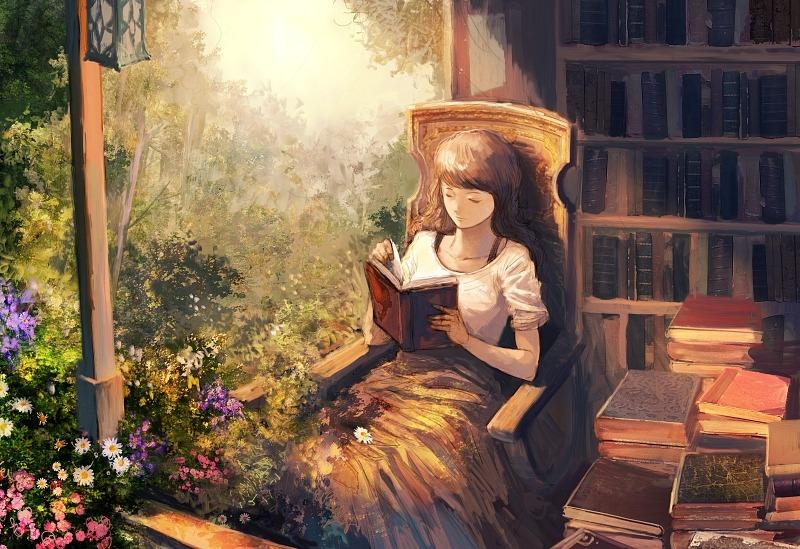 Читать, завернувшись в плед